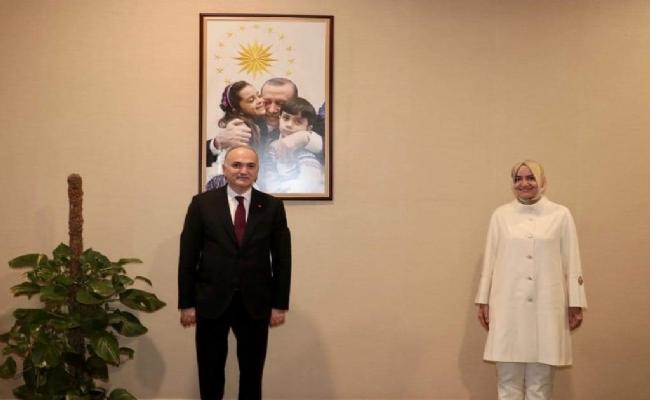 Başkan Özlü,Ankara'da Bir Dizi Ziyaretlerde Bulundu