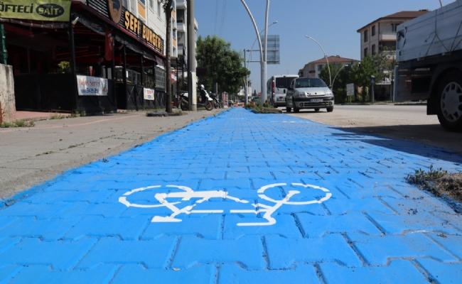 Bisiklet Yolu Çalışmaları Hızlandı