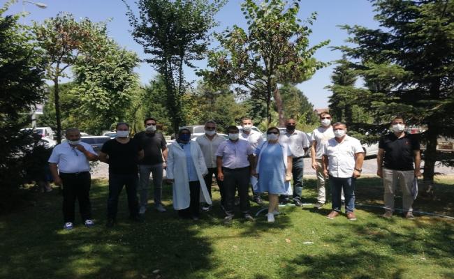 Millet Bahçesi Projesi Hakkında Bilgilendirildiler