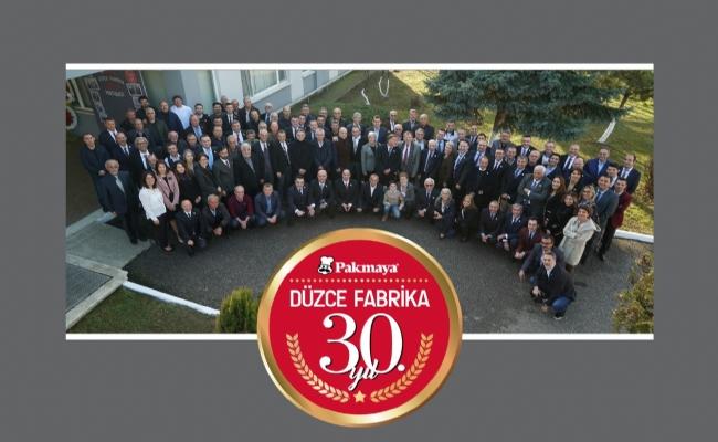 Pakmaya,Düzce Fabrikası'nın 30.Yılını Kutladı