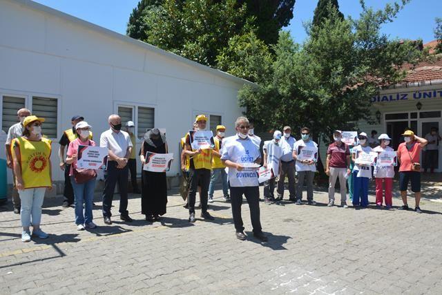 Sağlık Emekçileri Akçakoca'da Bir Basın Açıklaması İle Seslerini Duyurdu