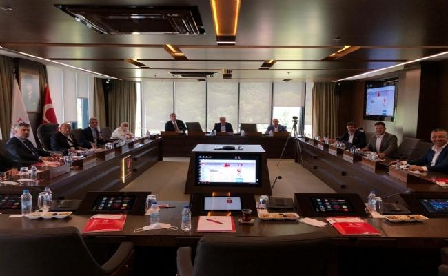 TFF İle 2. ve 3. Lig Kulüpler Birliği, Değerlendirme Toplantısı Yaptı