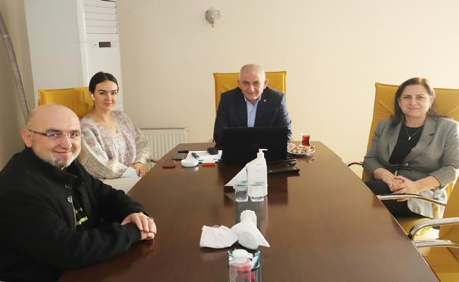 Tuncay Şahin, Alman-Türk Ticaret ve Sanayi Odası Toplantısında Konuştu