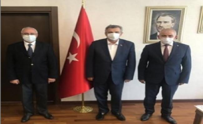 Tuncay Şahin, Düzce Sanayisinin Taleplerini Bakan Yardımcısına İletti