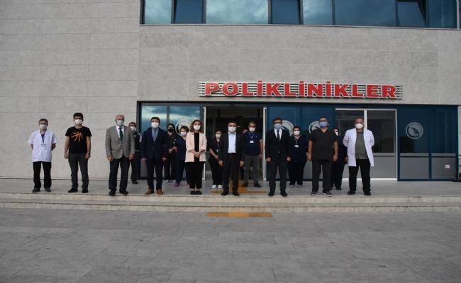 Vali Cevdet Atay Düzce Üniversitesi'ni Ziyaret Etti