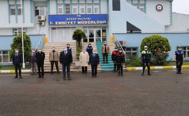 Vali Dağlı'dan  Emniyet ve Jandarma Ziyareti